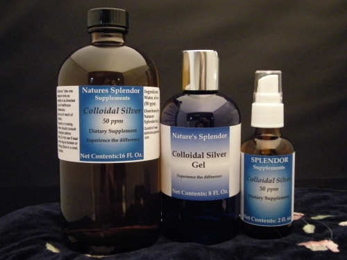 Colloidal Silver 32 oz.
